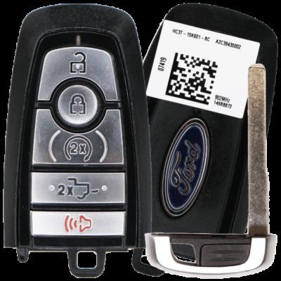 5 Button Ford F-Series Proximity Smart Key Peps Fcc M3N-A2C93142600 Pn 164-R8166