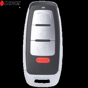 KEYDIY Audi Style 4 Button Universal Smart Key With Proximity Function KD-ZB08-4